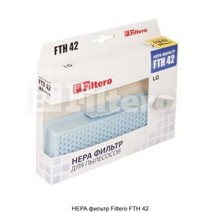 HEPA фильтр Filtero FTH 42 для пылесосов LG