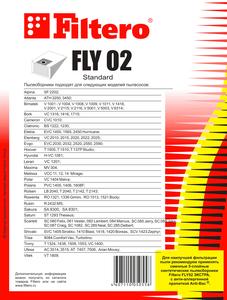 Мешки-пылесборники Filtero FLY 02 Standard, 5шт, бумажные