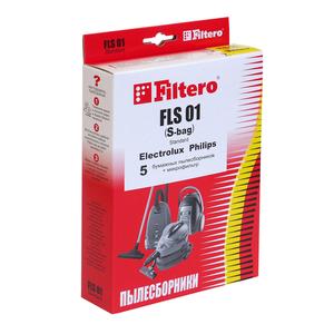 Мешки-пылесборники Filtero FLS 01 (S-bag) Standard, 5 шт, бумажные